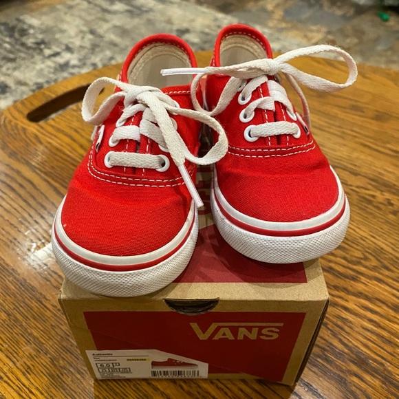 vans infant size 6
